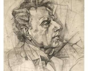 Portrait of Vsevolod Meyerhold — Юрий Анненков