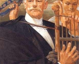 Portrait of Wladyslaw Zelenski — Яцек Мальчевский
