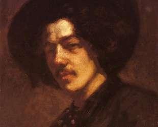 Portrait of Whistler with a Hat — Джеймс Эббот Макнил Уистлер