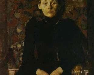 Portrait of wife of the businessman Artsybushev — Михаил Врубель