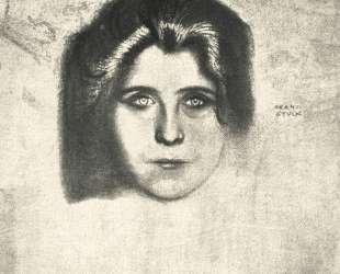 Portrait of writer Juliane Dery — Франц фон Штук
