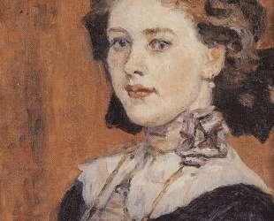 Портрет молодой женщины — Василий Суриков
