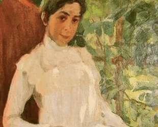 Portrait of Z. A. Pertsova — Константин Юон