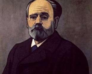 Portrait of Zola — Феликс Валлотон