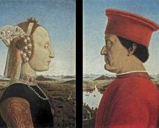 Портрет Федерико да Монтефельтро и Баттисты Сфорца — Пьеро делла Франческа
