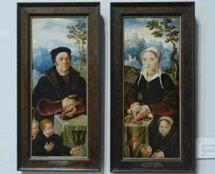 Portraits of donors — Мартен ван Хемскерк