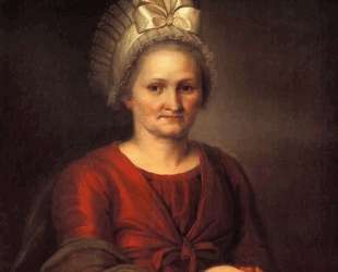 Portret of A. L. Venetsianova, Artist's Mother — Алексей Венецианов