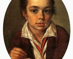 Portret of A. Putyatin — Алексей Венецианов