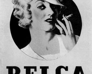 Poster for cigarettes 'Belga' — Рене Магритт