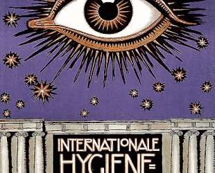 Poster for the International Hygiene Exhibition 1911 in Dresden — Франц фон Штук