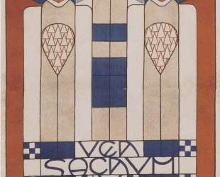 Poster for the XIII. Secession — Коломан Мозер