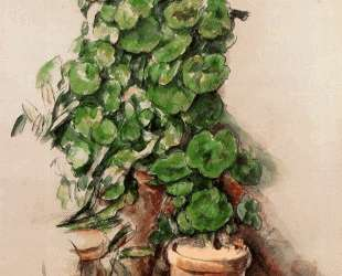 Pots of Geraniums — Поль Сезанн