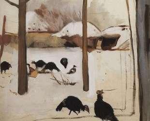 Птичий двор, 1910 — Зинаида Серебрякова