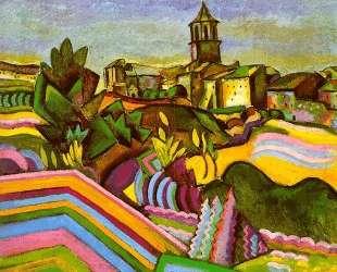 Prades, the Village — Жоан Миро