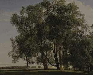Prater Landscape — Фердинанд Георг Вальдмюллер