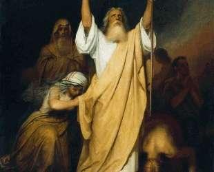 Молитва Моисея после перехода израильтян через Чермное море — Иван Крамской