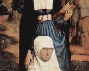 Молящийся донатор со святыми — Ганс Мемлинг