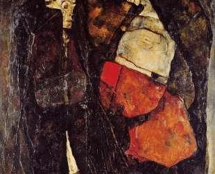 Pregnant woman and Death — Эгон Шиле
