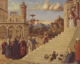 Введение во Храм Пресвятой Богородицы — Якопо Беллини