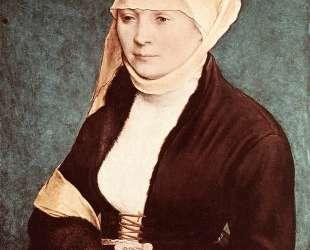 Presumed Portrait of the Artist0s Wife — Ганс Гольбейн Младший
