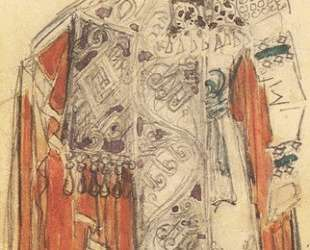 Prince Guido (Costume design for the opera 'The Tale of Tsar Saltan') — Михаил Врубель