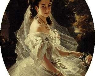 Princess Pauline de Metternich — Франц Ксавер Винтерхальтер