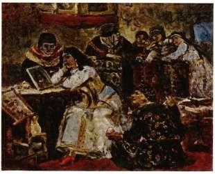 Царевна Ксения Годунова у портрета умершего жениха королевича — Василий Суриков
