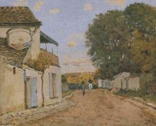 Princesse Street in Louveciennes — Альфред Сислей