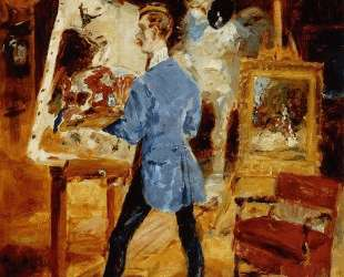 Princeteau in His Studio — Анри де Тулуз-Лотрек