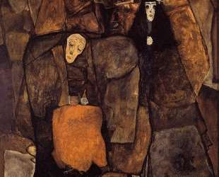 Procession — Эгон Шиле
