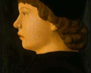 Портрет мальчика в профиль — Якопо Беллини