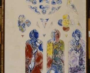 Проект витража для северной апсиды собора в Меце — Марк Шагал