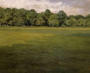 Prospect Park, aka Croquet Lawn Prospect Park — Уильям Меррит Чейз