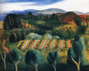 Прованский пейзаж — Моис Кислинг