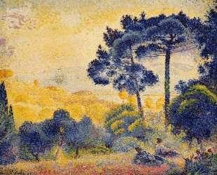 Provence Landscape — Анри Эдмон Кросс