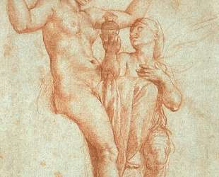 Psyche presenting Venus with water from the Styx — Рафаэль Санти
