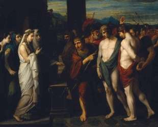 Pylades and Orestes Brought as Victims before Iphigenia — Бенджамин Уэст