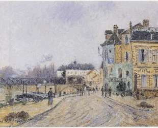 Quay on Oise in Pontoise — Гюстав Луазо