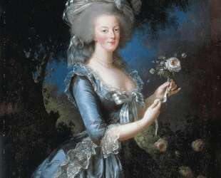 Queen Marie Antoinette of France — Элизабет Луиза Виже-Лебрен