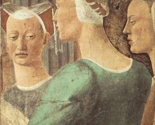 Царица Савская поклоняется Животворящему Древу — Пьеро делла Франческа