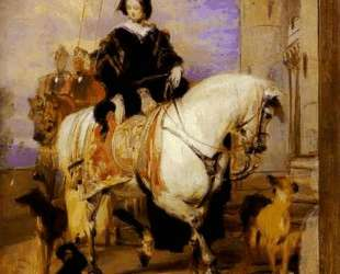 Queen Victoria on Horseback — Эдвин Генри Ландсир