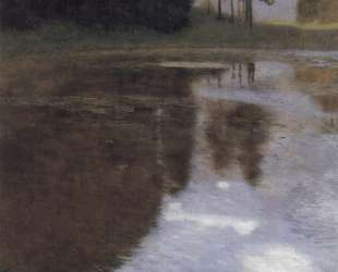 Quiet pond in the park of Appeal — Густав Климт