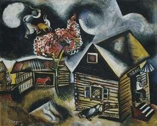 Дождь — Марк Шагал