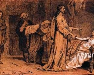Воскрешение дочери Иаира2 — Илья Репин
