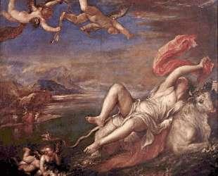 Rape of Europe — Тициан