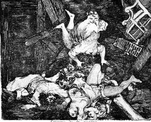 Ravages of war — Франсиско де Гойя