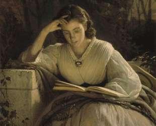 За чтением — Иван Крамской