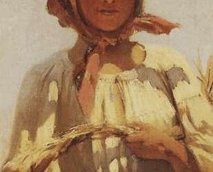 Жница — Григорий Мясоедов