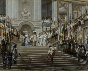 Reception of Le Grand Conde at Versailles — Жан-Леон Жером