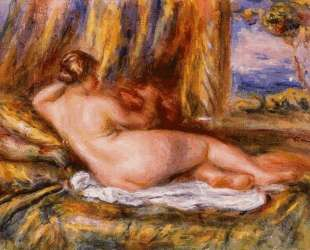 Reclining Nude — Пьер Огюст Ренуар